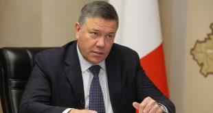 Губернатор Вологодской области О.А. Кувшинников